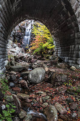 Maine Roads Photograph - Under The Road by Jon Glaser