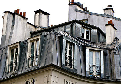 Under The Rooftops Of Paris Original by Ira Shander