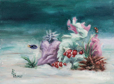 Painting - Under The Sea by Brenda Thour