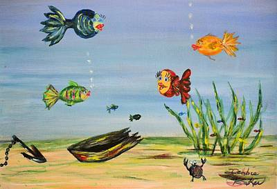 Painting - Under The Sea by Debbie Baker