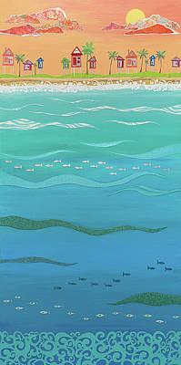 Under The Sea Art Print by Jennifer Peck