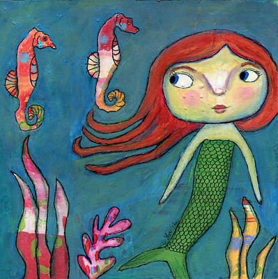 Painting - Under The Sea by Lynda Metcalf