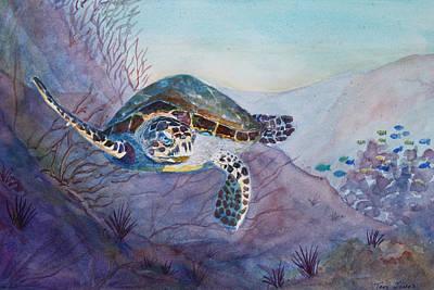 Under The Sea Art Print by Teri  Jones
