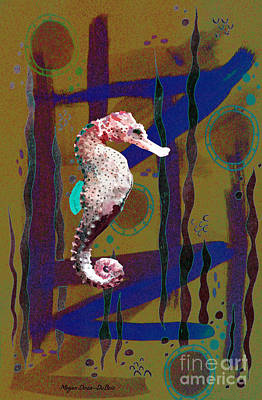 Mixed Media - Under The Sea2 by Megan Dirsa-DuBois