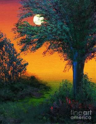 Under The Solstice Moon II Art Print