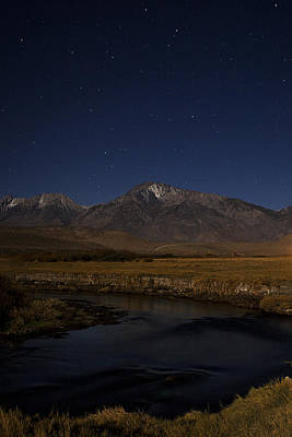 Owens River Photograph - Under The Stars by Andrew Soundarajan