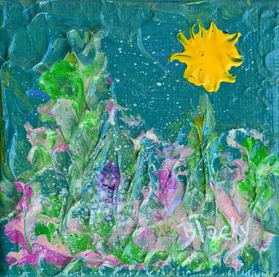 Painting - Under The Summer Sun by Donna Blackhall