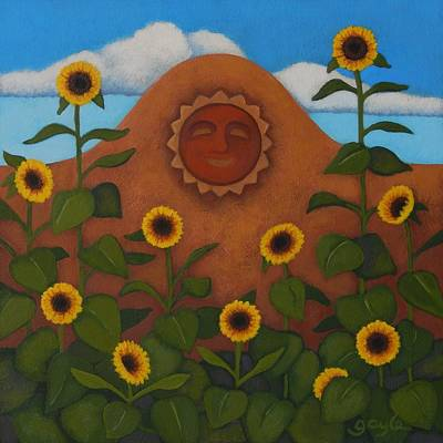 Painting - Under The Sun by Gayle Faucette Wisbon