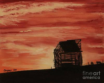 Under The Sunset Art Print by Stanza Widen