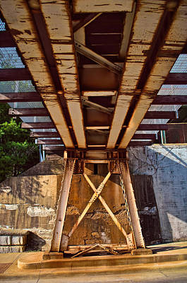 Photograph - Under The Train Trestle 3tda by Greg Jackson