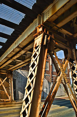 Photograph - Under The Train Trestle  by Greg Jackson