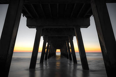 Photograph - Under The Tybee Island Pier by Anthony Doudt