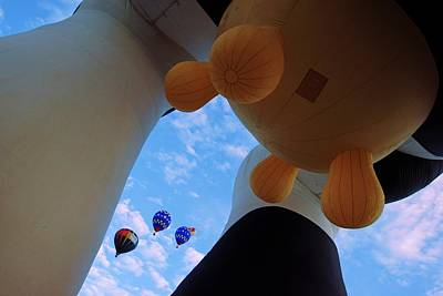Photograph - Under The Udders At Balloon Fiesta by Daniel Woodrum