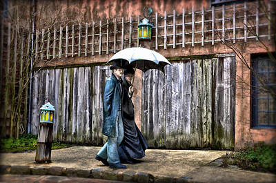 Grounds For Photograph - Under The Umbrella by Bill Cannon