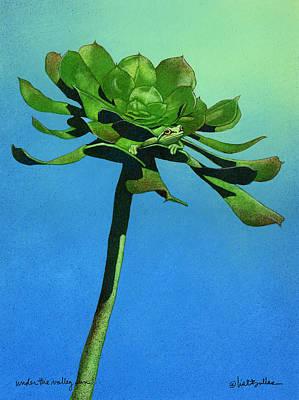 Under The Valley Sun... Art Print by Will Bullas
