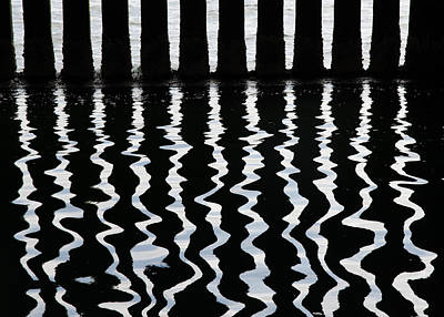 Photograph - Under The Wharf 3 by Rob Huntley
