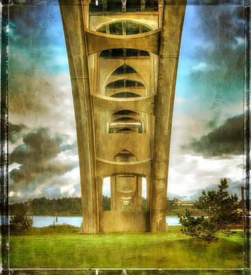 Photograph - Under The Bridge by Thom Zehrfeld