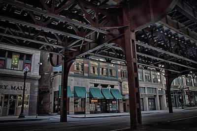 Under Tracks Chicago Art Print