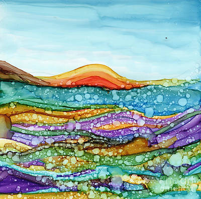 Painting - Under Water by Carolyn Weir
