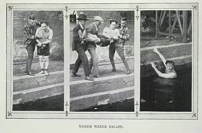 Etc. Photograph - Under Water Escape by British Library