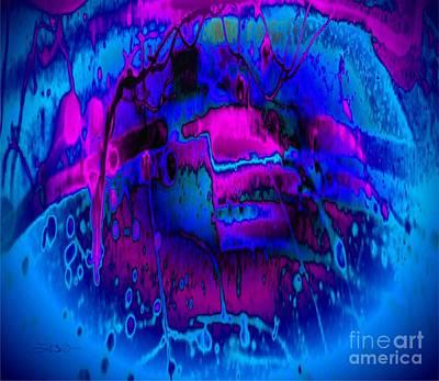Under Water Playground Art Print by Tlynn Brentnall