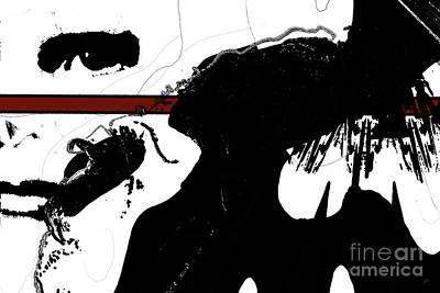 Abstract Digital Art Mixed Media - Undercover by Gerlinde Keating - Galleria GK Keating Associates Inc