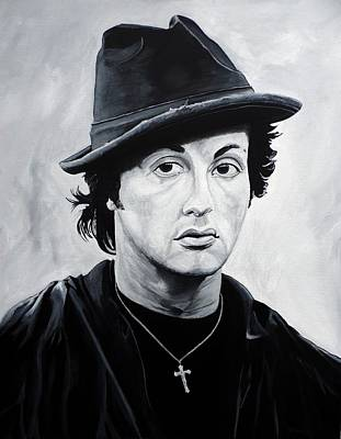 Stallone Painting - Underdog by Anthony Morales