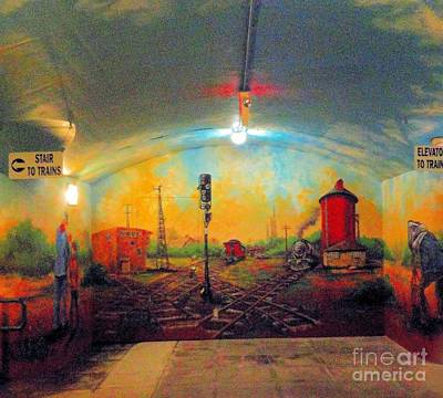 Photograph - Underground At The Okc Depot by Janette Boyd