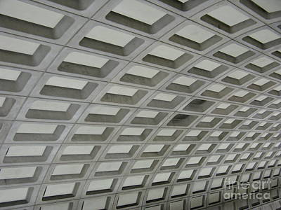Underground. Washington Dc. Usa Art Print