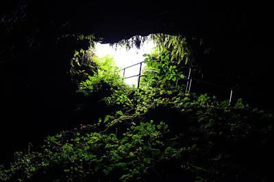 Underground Tour Photograph - Underground Cave by Brandon Bourdages