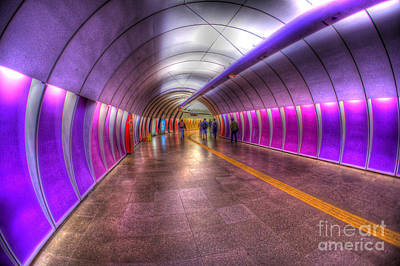 Underground Colors Art Print by Will Cardoso
