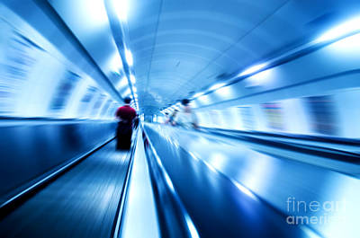 Cabin Photograph - Underground Motion by Michal Bednarek