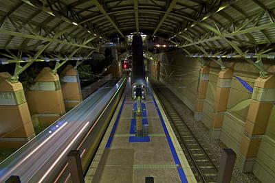 Art Print featuring the photograph Underground Transit by John Babis