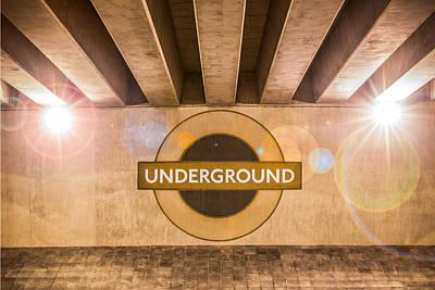 Photograph - Underground Underground by Semmick Photo
