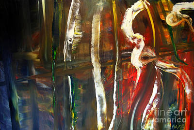 Painting - Undergrowth Iv by James Lavott