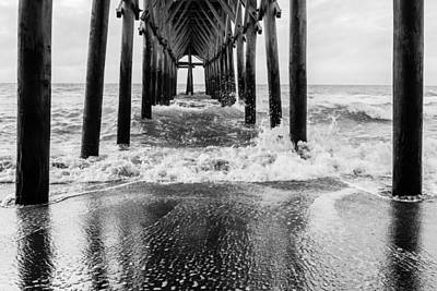 Balck And White Photograph - Underneath  by Kathy Malecki