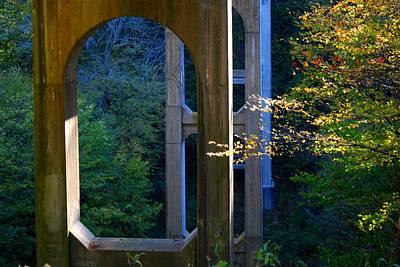 Photograph - Underneath The Bridge by Kathryn Meyer