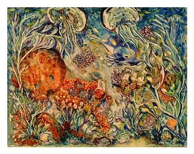 Undersea Friends Art Print