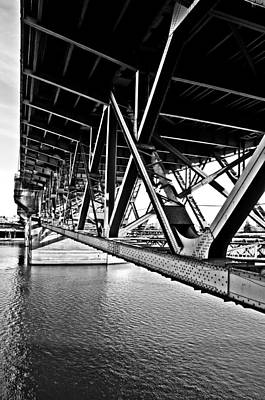 Photograph - Underside Of The Burnside Bridge by Gary Silverstein