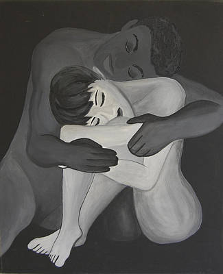 Sympathy Painting - Understanding by Gina Dsgn
