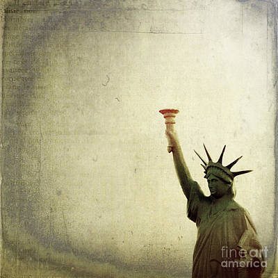 Statue Of Liberty Replica Photograph - Understanding Liberty by Trish Mistric