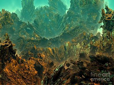 Digital Art - Underwater 12 by Bernard MICHEL
