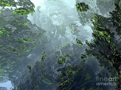 Digital Art - Underwater 4 by Bernard MICHEL