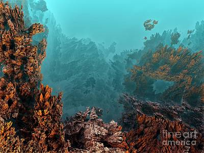 Underwater 6 Art Print by Bernard MICHEL