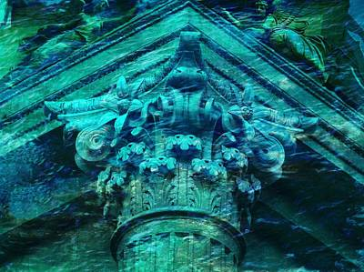 Photograph - Underwater Ancient Beautiful Creation by Lilia D