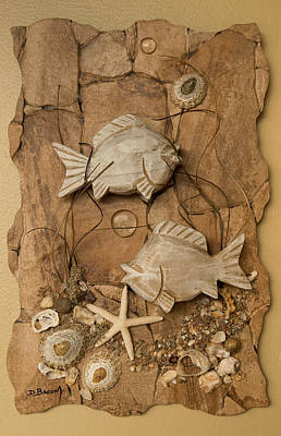 Ceramic Mixed Media - Underwater Creation 1 by Dawn Broom