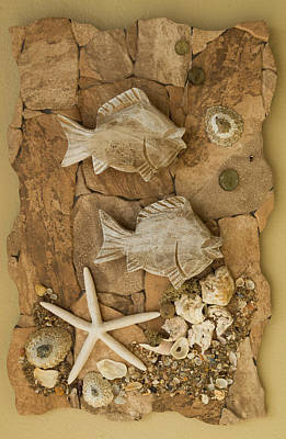 Ceramic Mixed Media - Underwater Creation 2 by Dawn Broom