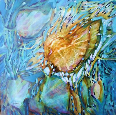 Painting - Underwater Fantasy by Christiane Kingsley