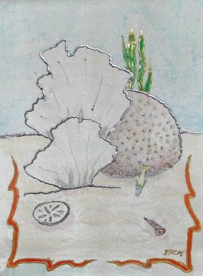 Painting - Underwater Garden by Barbie Corbett-Newmin