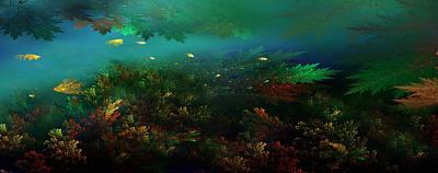 Photograph - Underwater Paradise by Radoslav Nedelchev